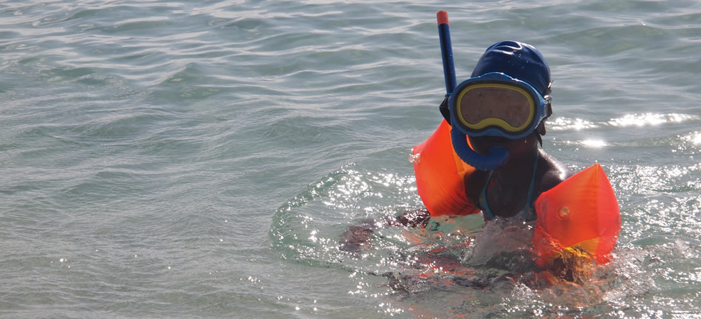 snorkling for all ages