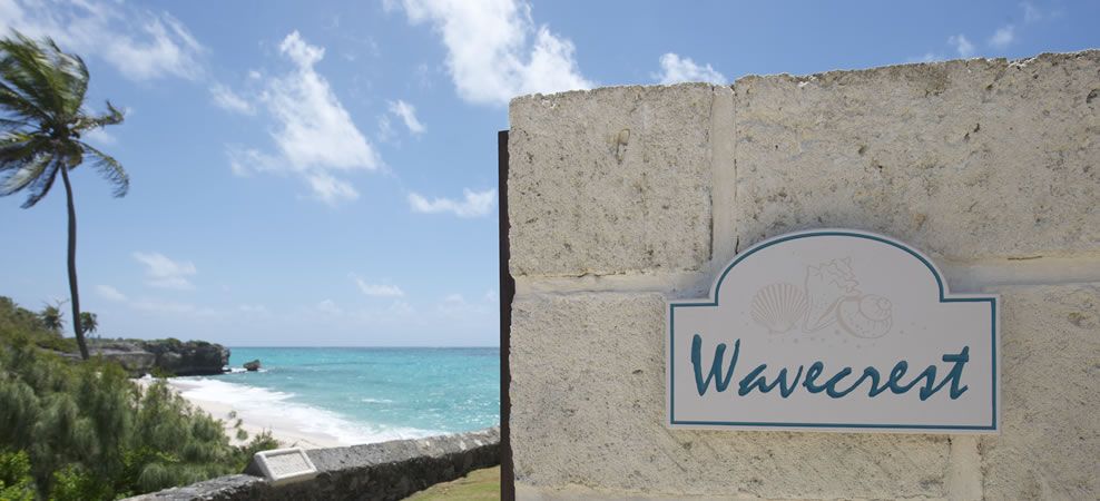 photo of wavecrest welcome sign